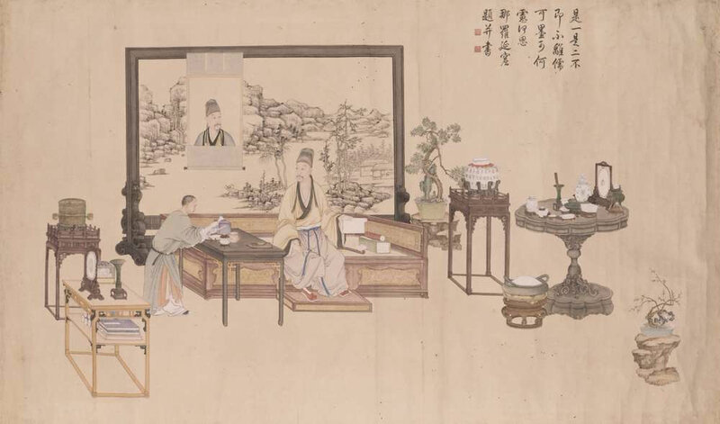 Portrait de Hongli
