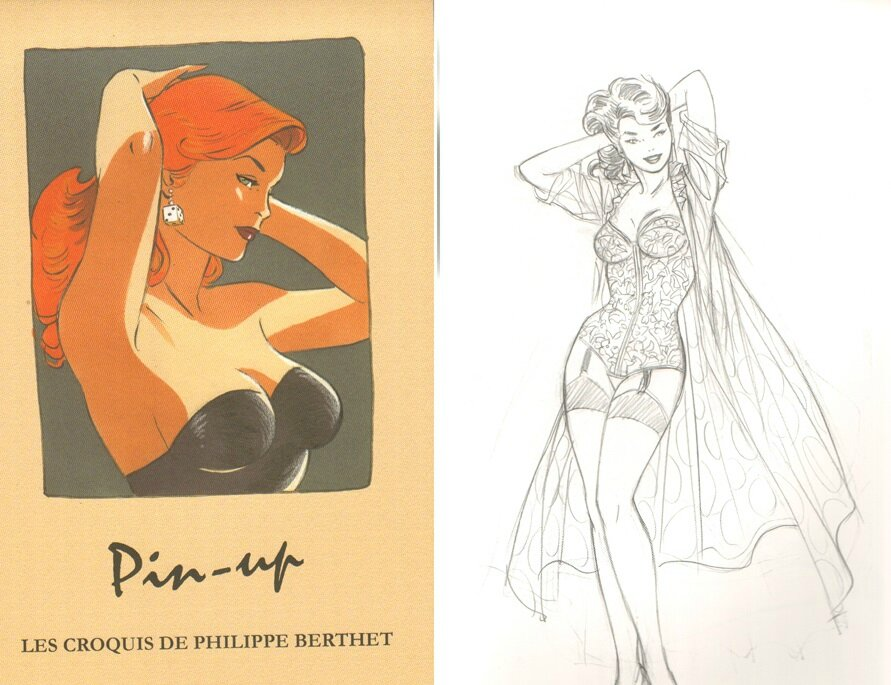 Carnet de croquis Pin-up Berthet