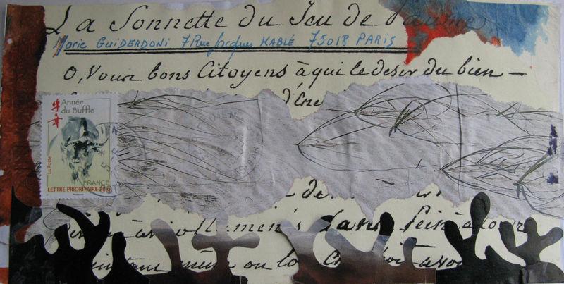 Reçu de Jean-Pierre Desvigne