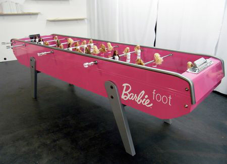Barbie Foot - Mademoiselletiti