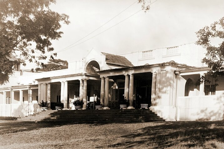 Victoria Falls Hotel after its reconstruction in 1915