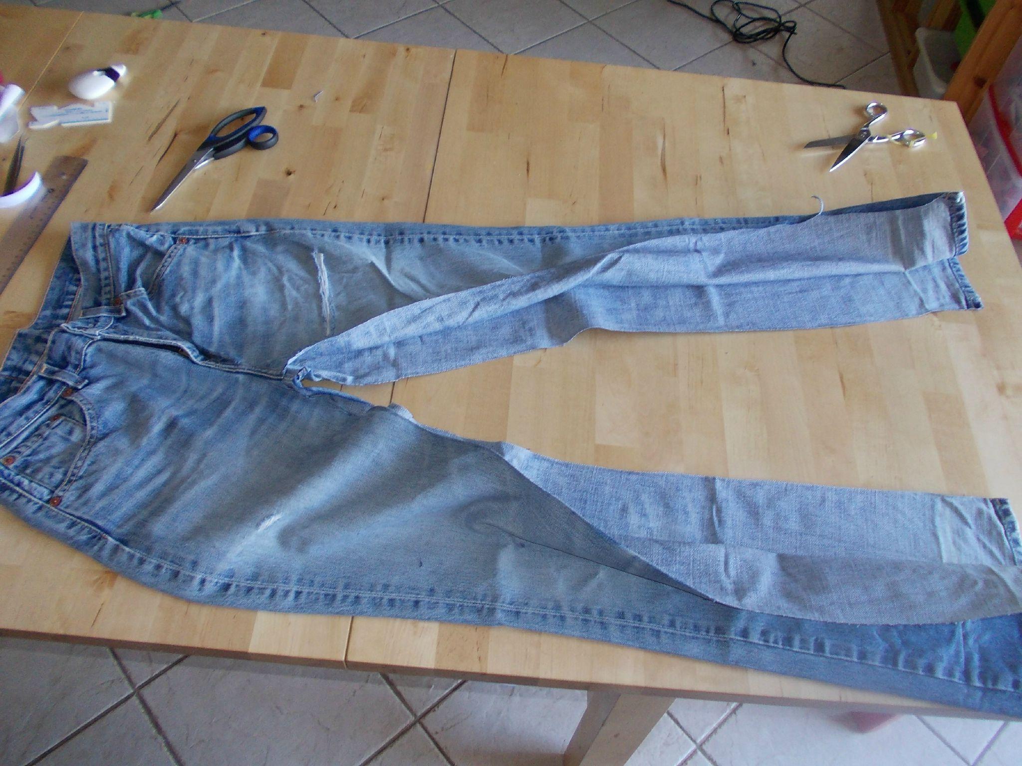 Confection d 39 un sarouel partir d 39 un jean atelier de couture en charente - Comment faire pour se porter partie civile ...