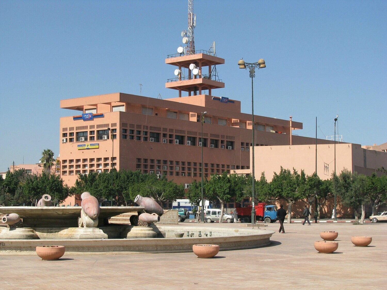 Quartier du gueliz fan au maroc for Salon du batiment casablanca