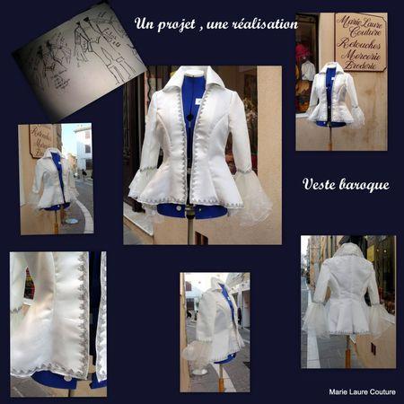 Veste Baroque Delphine 2012