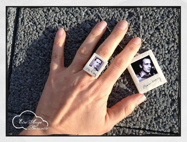 polaroid bague