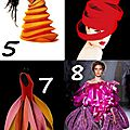 Challenge d'inspiration : textures haute couture