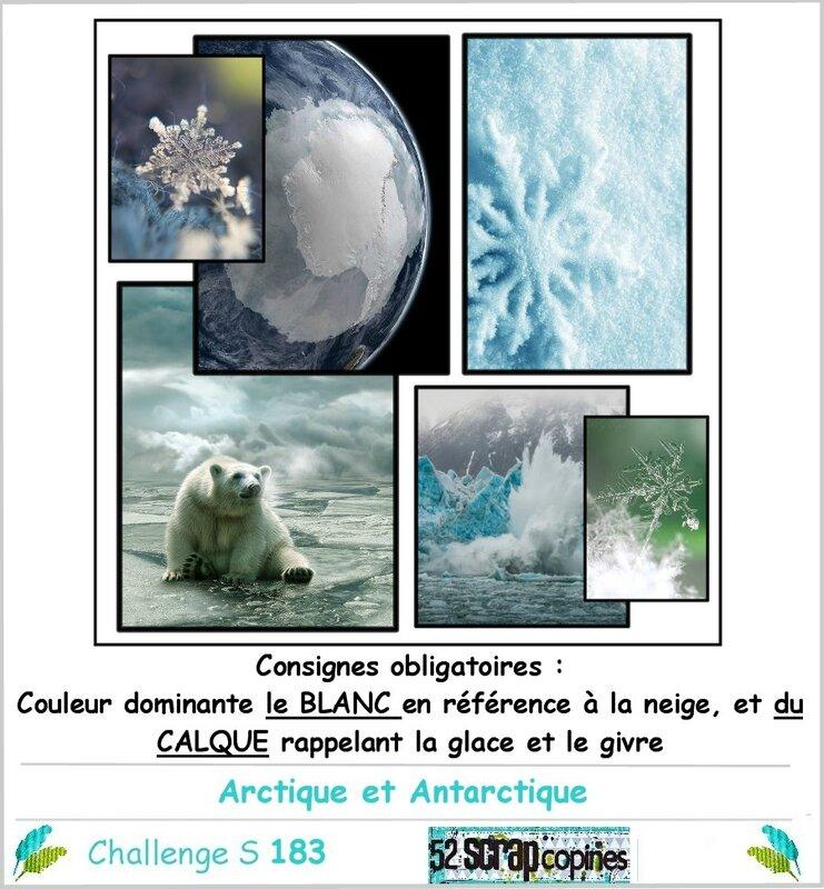 Challenge S183 -arctique et antarctique