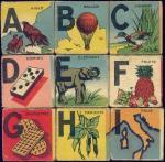 AEV 1718-09 alphabet