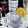 Le cocktail du jour: the midnight sun featuring reyka vodka