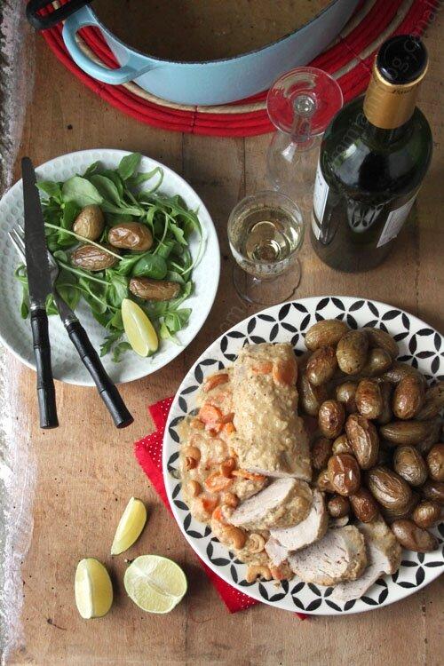 recette de filet mignon de porc sauce noix de cajou 00005 LE MIAM MIAM BLOG