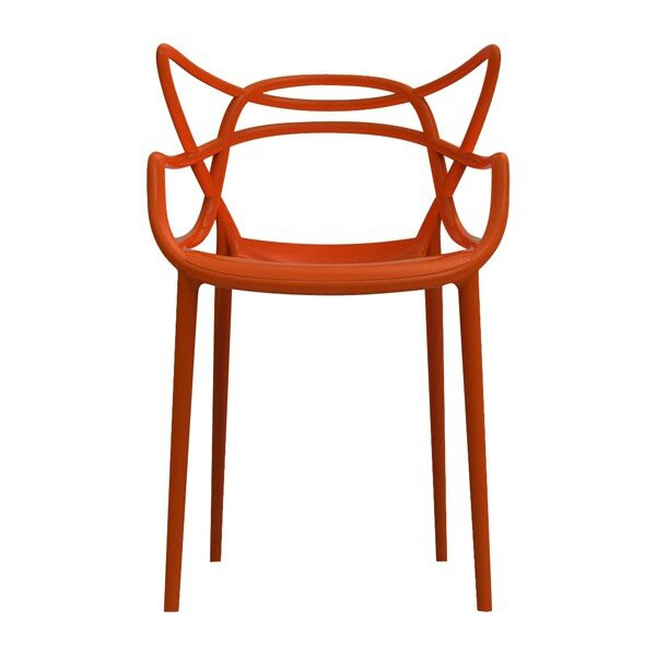 chaise-masters-rouille-kartell