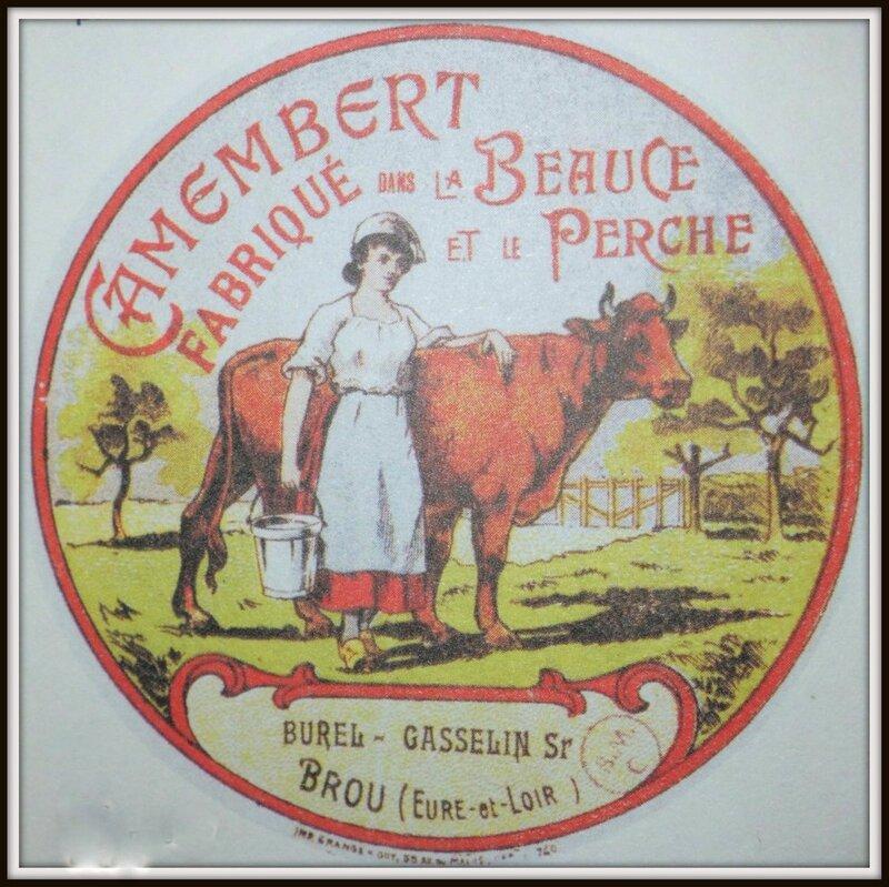 Camembert fabriqué en Eure et Loir jusque dans les années 60