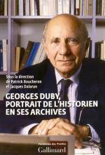 Duby historien en ses archives