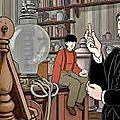 Avril et le monde truqué, film d'animation de f. ekinci, ch. desmares, d'après l'univers de tardi
