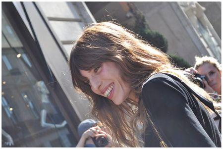 Lou Doillon Fashion Week Balmain3