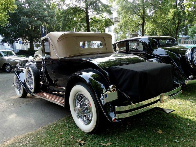 ROLLS ROYCE Phantom I Springfield Brewster Regent Drophead Coupé 1929 Baden Baden (2)