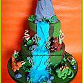 Gâteau dinosaures !