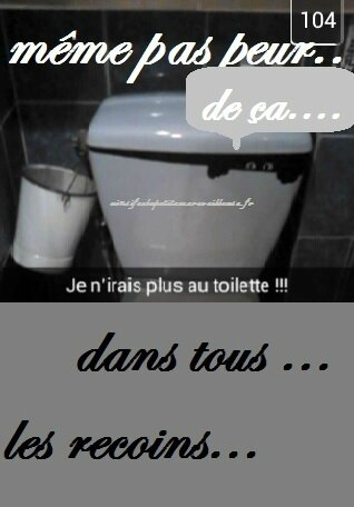 snap toilette hallow 2014