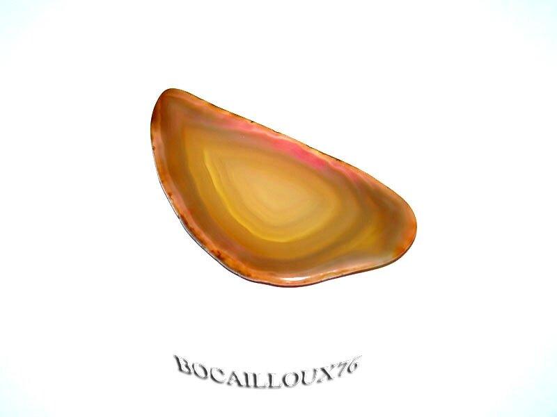 TRANCHE D'AGATE 45-50 (49x25x2.5) - 5