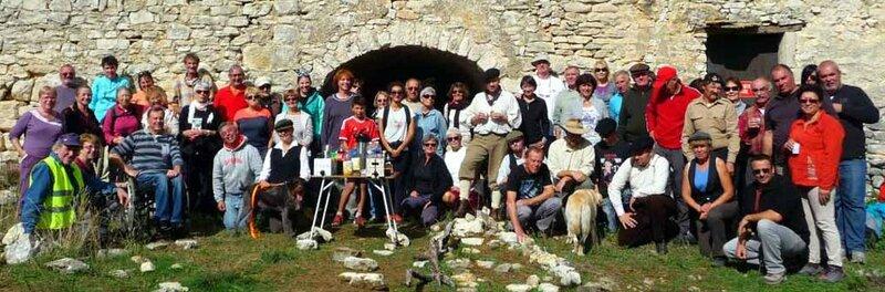 Randonnée Maquis de Gordes 2016