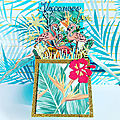 Carte box tropical