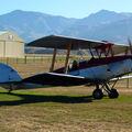 Un Tiger Moth, avion mythique en Nouvelle-Zélande