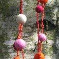 Perles de feutrines et perles de rocailles 10