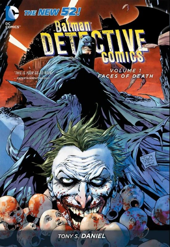 detective comics vol 1 faces of death TP