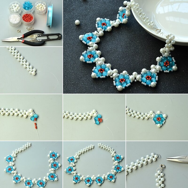 1080-Tutorials-on-Cat-Eye-Bead-Chunky-Necklace