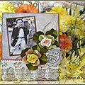 Carte d'anniversaire pour Monique - Mars 2012