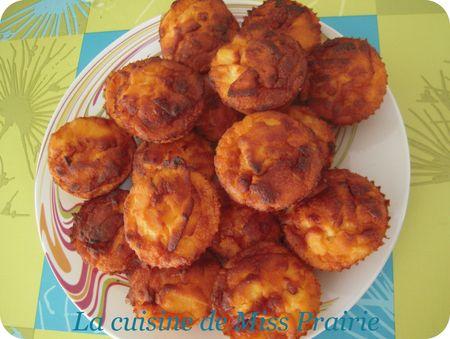 Muffins maïs & pommes - Apple corn muffins