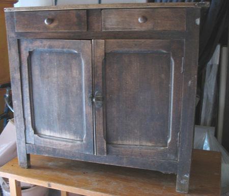 Ca y est j 39 ai fini mon petit meuble dingue de zinc for Cire pour meuble peint
