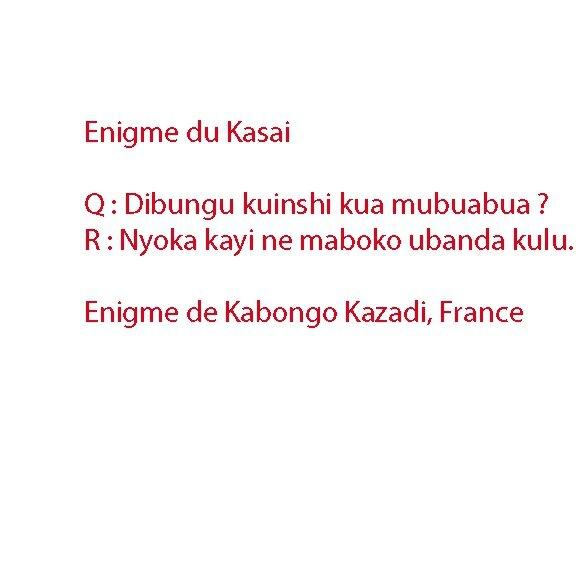 Enigme du Kasai7