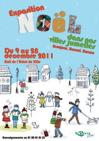 expo Noël mairie le Pecq