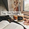 Top ten tuesday # 70