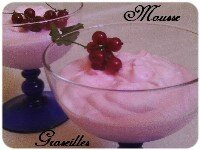 Mousse de groseilles index