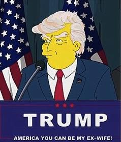 Donald Trump président USA les Simpsons