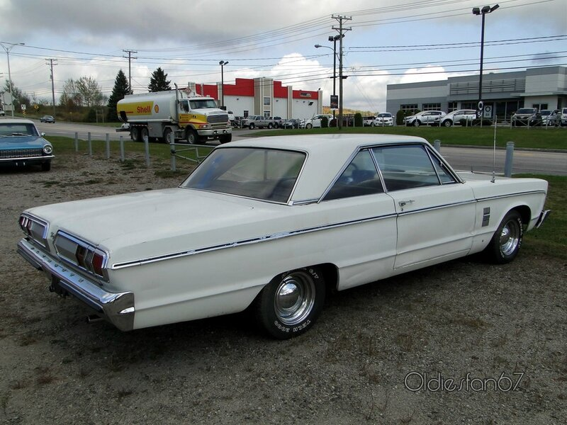plymouth fury III coupe 1966 b