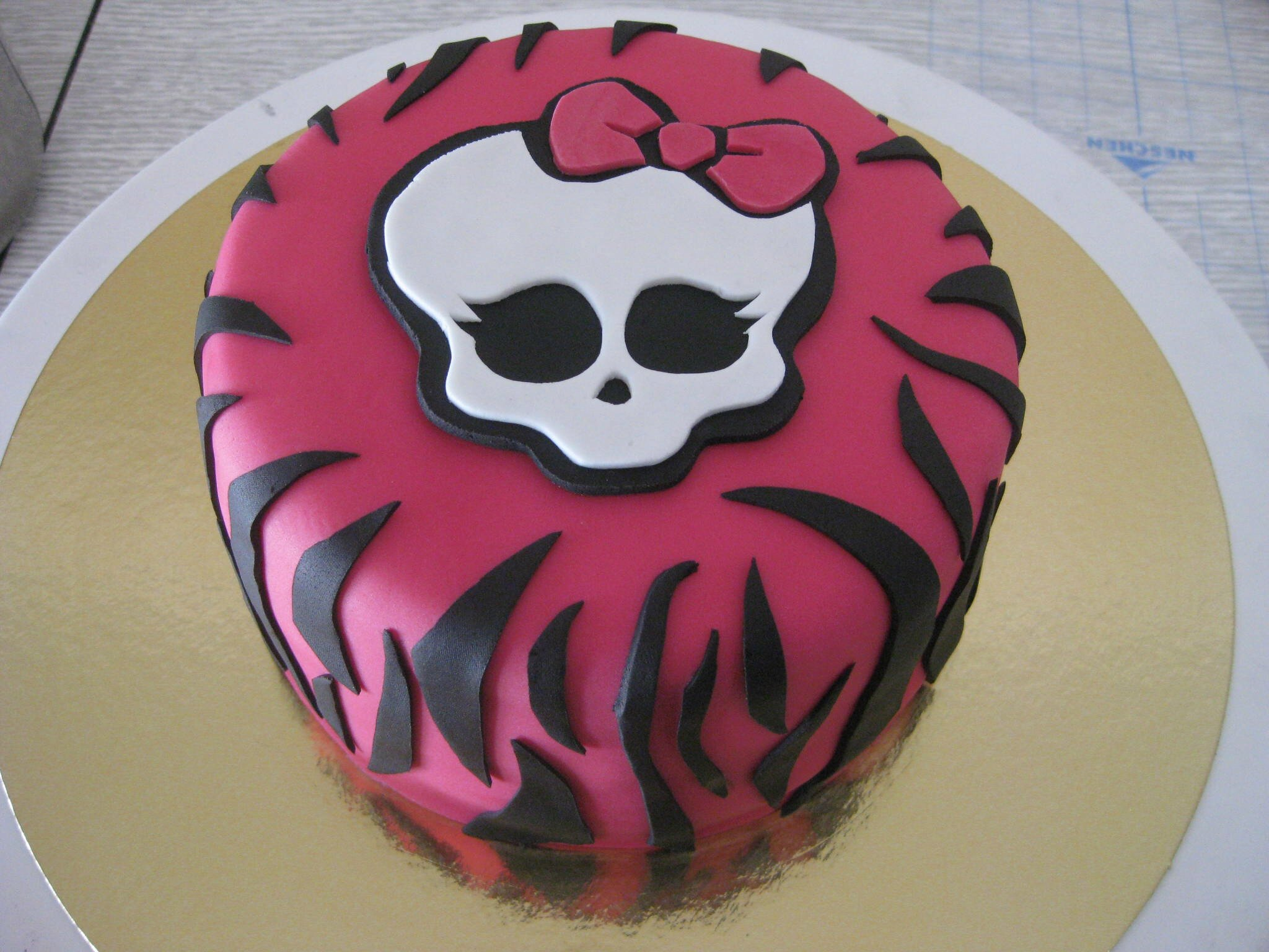 Favori Gâteau Monster High n°2 - Monster High Cake - Les Hobbies d'Aurélie PF37