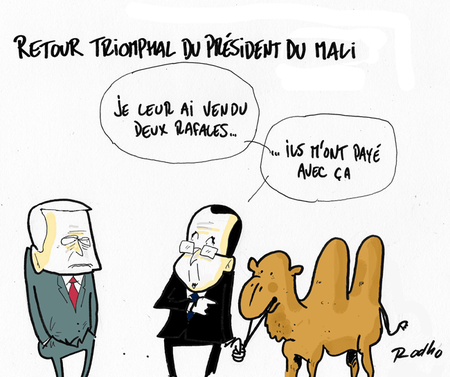 Hollande_Mali_chameau_rafale