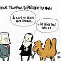 Hollande, l'esprit malien