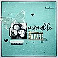 Ensemble - défi 5 sagapo scrap