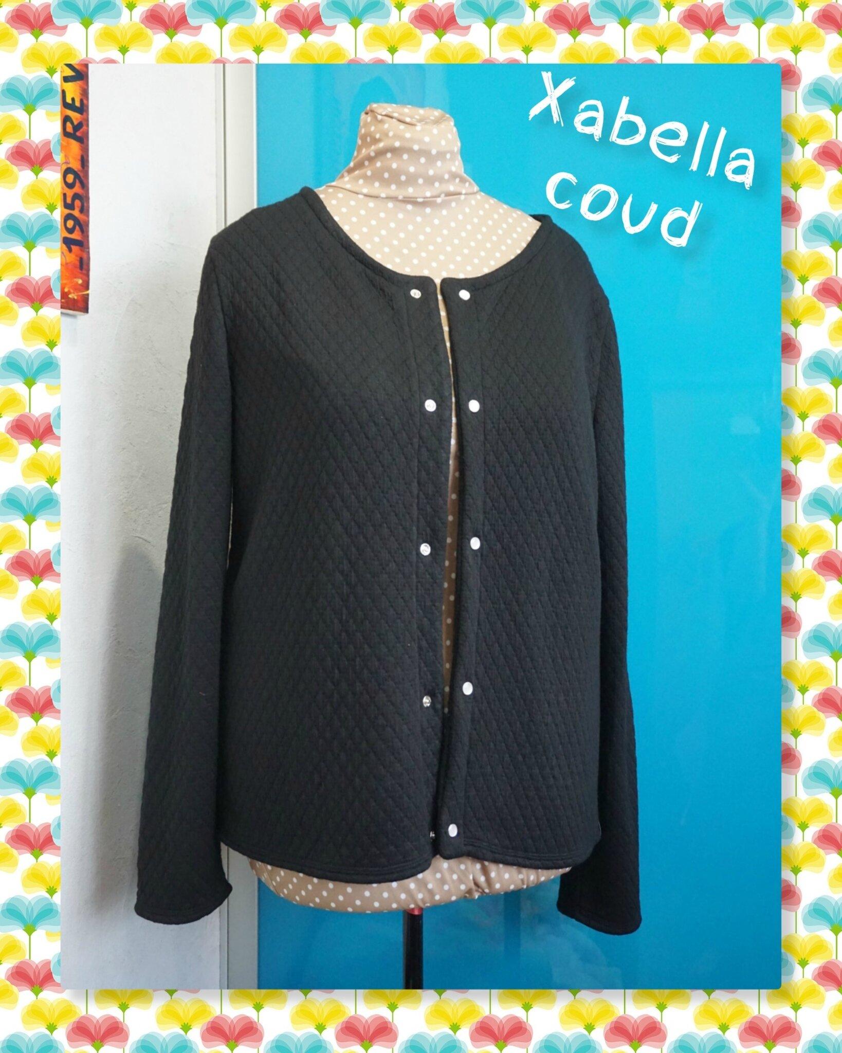 Gilet Monceau   ses jolies pressions Snapsource - Xabella tricote et ... 0b996e37771