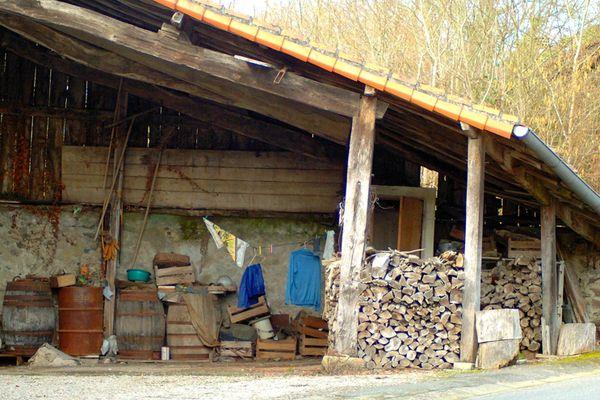 cabane grange ouverte
