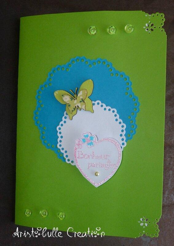 Carte mariage bouquet - 1 mai 16