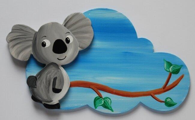 plaque de porte koala 2