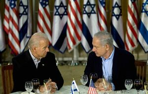 Biden and netanyahu