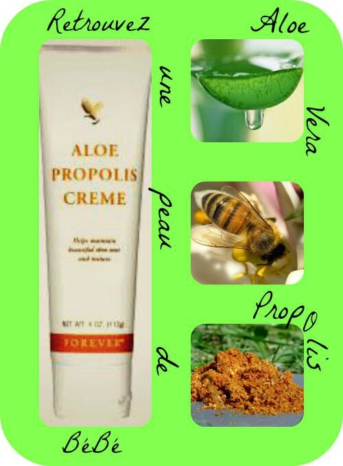 collage aloe propolis finish