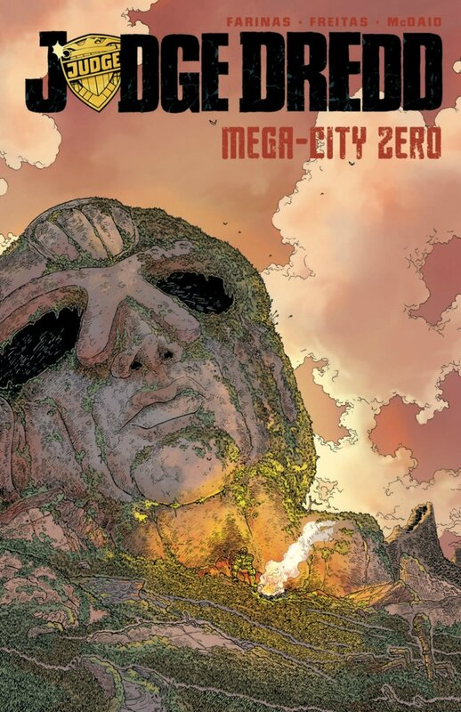 IDW judge dredd mega-city zero vol 1 TP