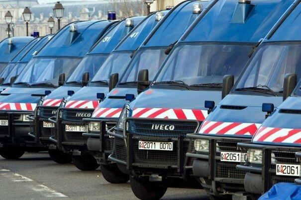 Gendarmerie mobile véhicules